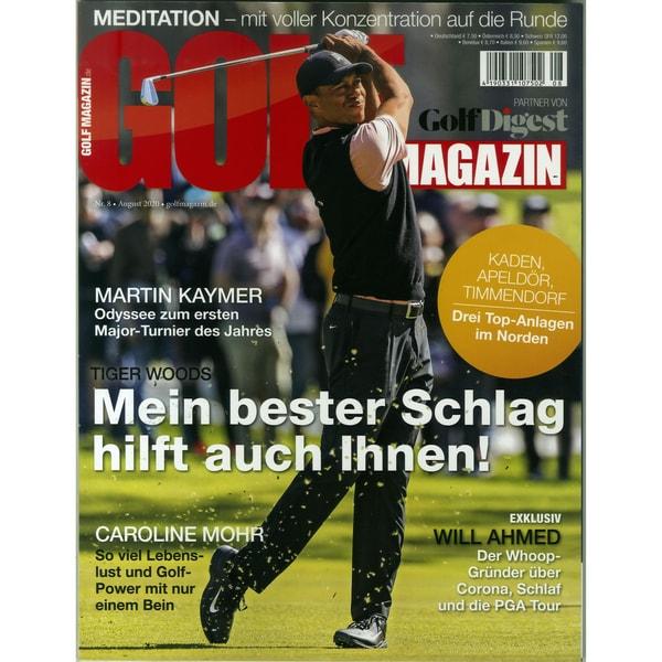Golfmagazin 8/2020 Martin Kaymer