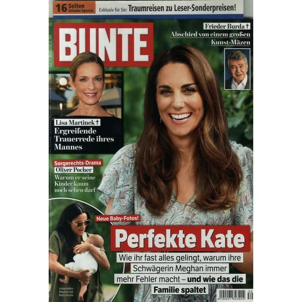 Bunte 30/2019 Perfekte Kate