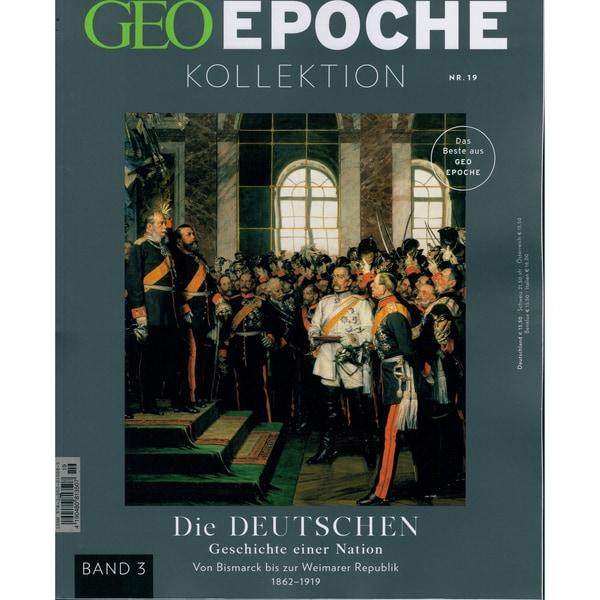 GEO Epoche Kollektion 19/2020 Die Deutschen / Band 3