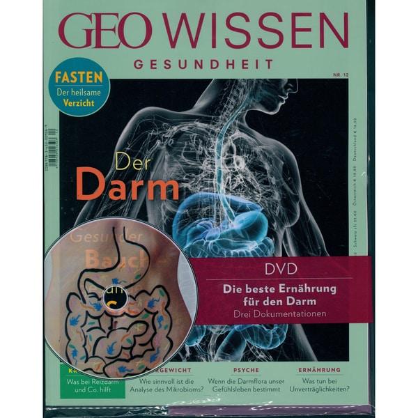 GEO Wissen Gesundheit mit DVD 12/2019 Der Darm