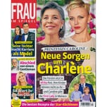 Frau im Spiegel 31/2021 Neue Sorgen um Charlene