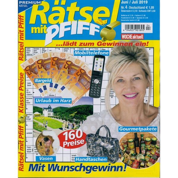 Rätsel mit Pfiff 5/2019 Mit Wunschgewinn