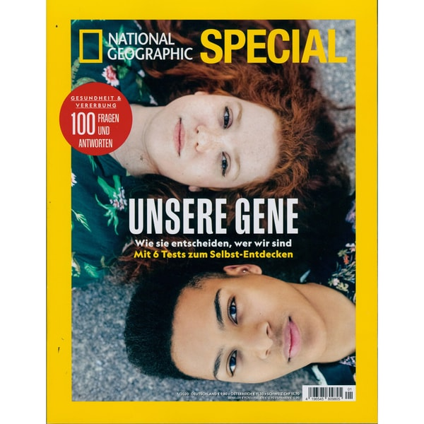 National Geographic Special 1/2020 Unsere Gene