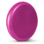 LOMOS ergonomisches Balance-Sitzkissen inklusive Luftpumpe in pink, Ø 33 cm