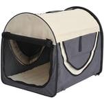 Pawhut Hundetransportbox in Größe M
