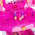 Homcom Kinder Schminktisch rosa