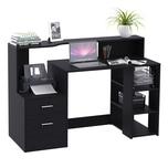 HOMCOM Computertisch mit Regal