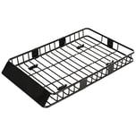 Homcom Dachgepäckträger fürs Auto schwarz