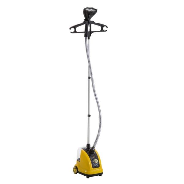 Homcom Dampfbürste Vertikal gelb-schwarz