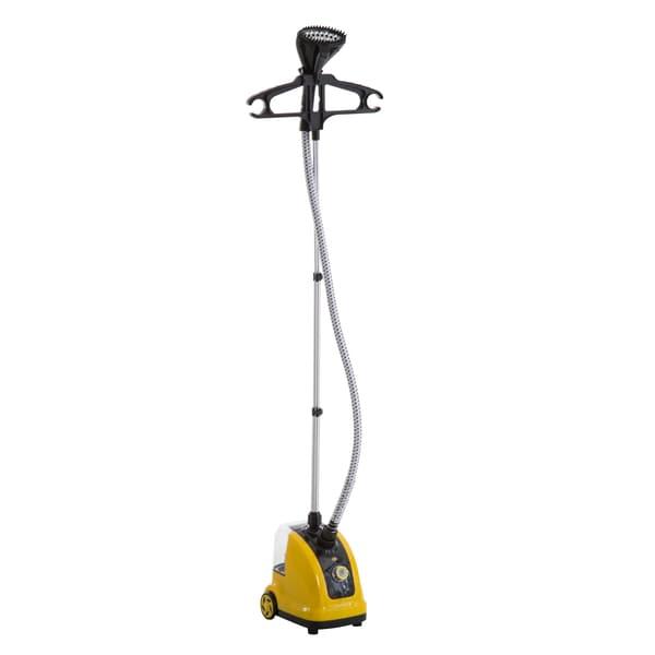 Homcom Dampfbürste Vertikal gelb/schwarz