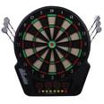 Homcom Elektronische Dartscheibe für bis zu 16 Spieler schwarz