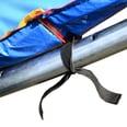 Outsunny Randabdeckung für Trampoline blau 305cm