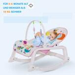 Homcom Babywippe mit Musik und Spielbogen