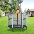 Homcom Mini-Trampolin für Kinder schwarz-blau