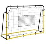 Homcom Fußballnetz für mehrere Ballsportarten gelb/schwarz