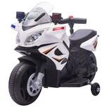 Homcom Elektromotorrad mit Scheinwerfern und Polizeileuchten