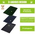 Pawhut Welpentoilette grün/schwarz