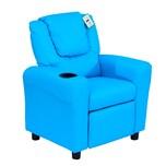 Homcom Kindersessel mit Liegefunktion blau