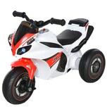Homcom Rutscherfahrzeug als Motorrad weiß