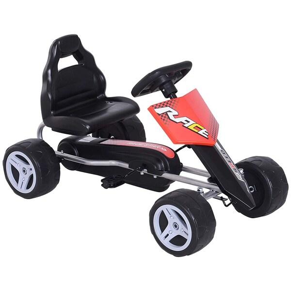 Homcom Kinder Go-Kart rot/schwarz