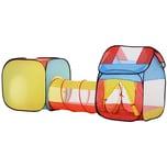 Homcom Pop-up Spielzelt für Kinder bunt