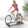 Homcom Rollentrainer für alle gängigen Fahrradmodelle schwarz