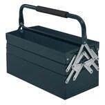 Durhand Werkzeugkoffer 5 Fach-Design dunkelgrün