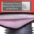 Homcom Standboxsack für Box Training schwarz-rot