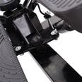 Homcom Sidestepper inklusive Trainingsbänder schwarz