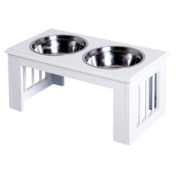 Pawhut Futternapf für Hunde und Katzen