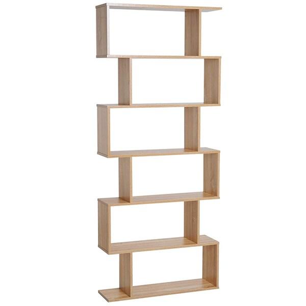 Homcom Bücherregal mit 6 Fächer