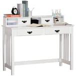HOMCOM Schreibtisch mit Regal