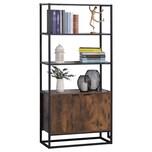 HOMCOM Bücherregal mit 3 Ebenen im Industrie Design