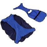 Pawhut Hundekühlweste atmungsaktiv dunkelblau