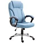 Vinsetto Bürostuhl mit Wippfunktion hellblau