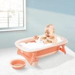 Homcom Faltbare Babywanne mit Waschbecken und Shampoobecher
