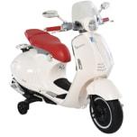 Homcom Elektrisches Kindermotorrad als Vespa