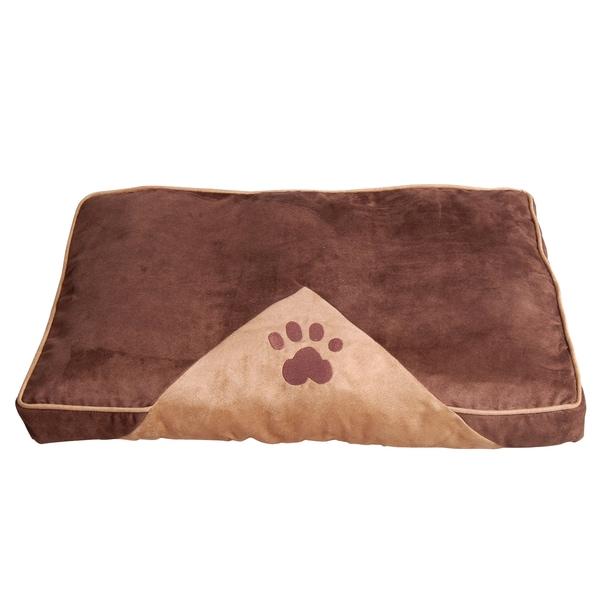 Pawhut Hundeschlafplatz für Haustiere braun-hellbraun
