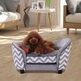 Pawhut Hundebett mit Kissen grau