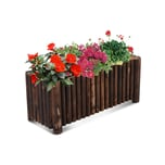 Outsunny Blumenkasten natur