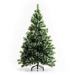 Homcom Künstlicher Weihnachtsbaum mit Metallständer grün