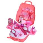 Homcom Kosmetikkoffer für Kinder rosa