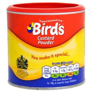 Birds Custard Powder Tub 300g - Vanille-Soßen-Mix