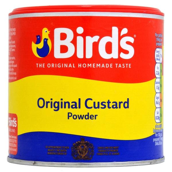 Birds Custard Powder Tub Vanille-Soßen-Mix 300g