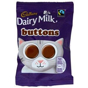 Cadbury Dairy Milk Buttons - Milchschokoladen-Linsen