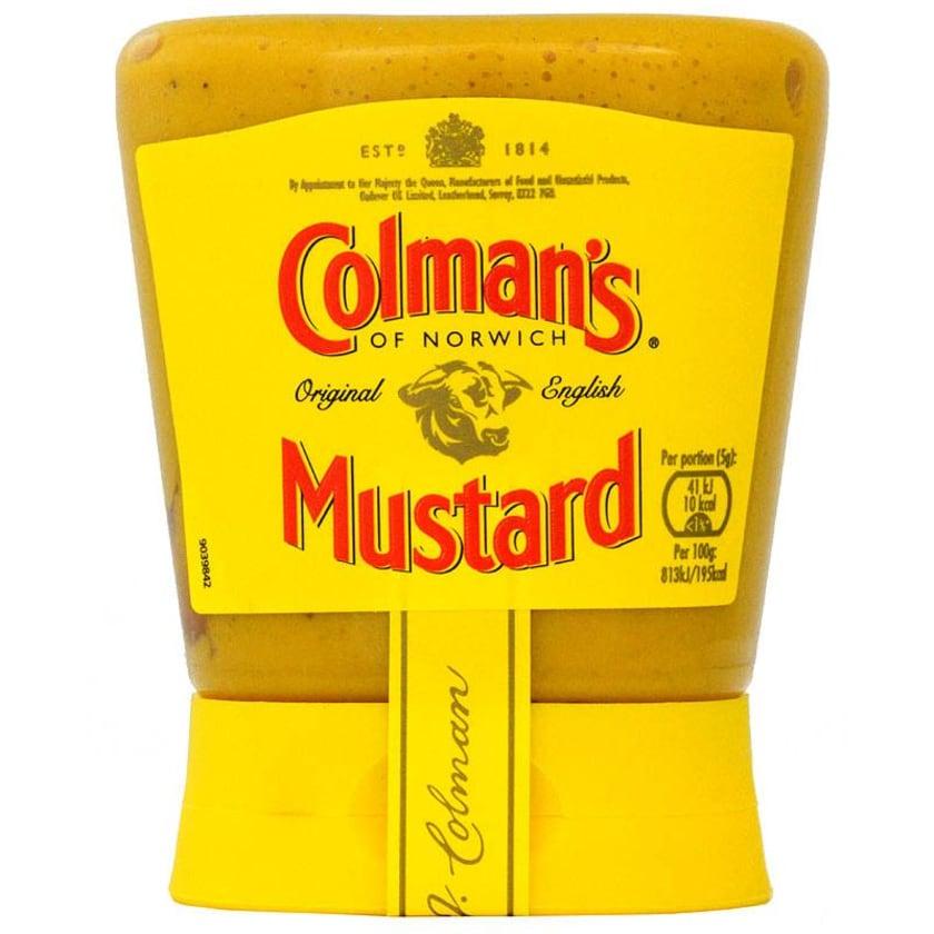 Colmans Original English Mustard Squeezy 150 g - Englischer Senf, scharf