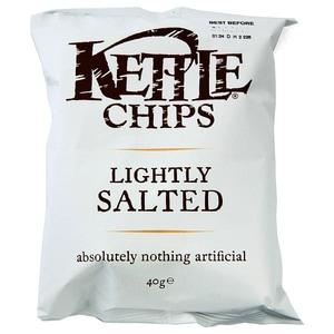 Kettle Chips Lightly Salted Sea Salt 40 g