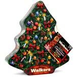 Walkers Shortbread Christmas Tree Tin 225g - Buttergebäck