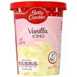 Betty Crocker Vanilla Icing - Kuchenglasur Vanille-Geschmack