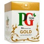 PG Tips 80 Gold Teebeutel Schwarzer Tee 232g